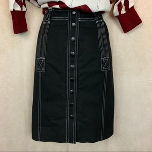 Inc International | Pencil Skirt | Black | 2P